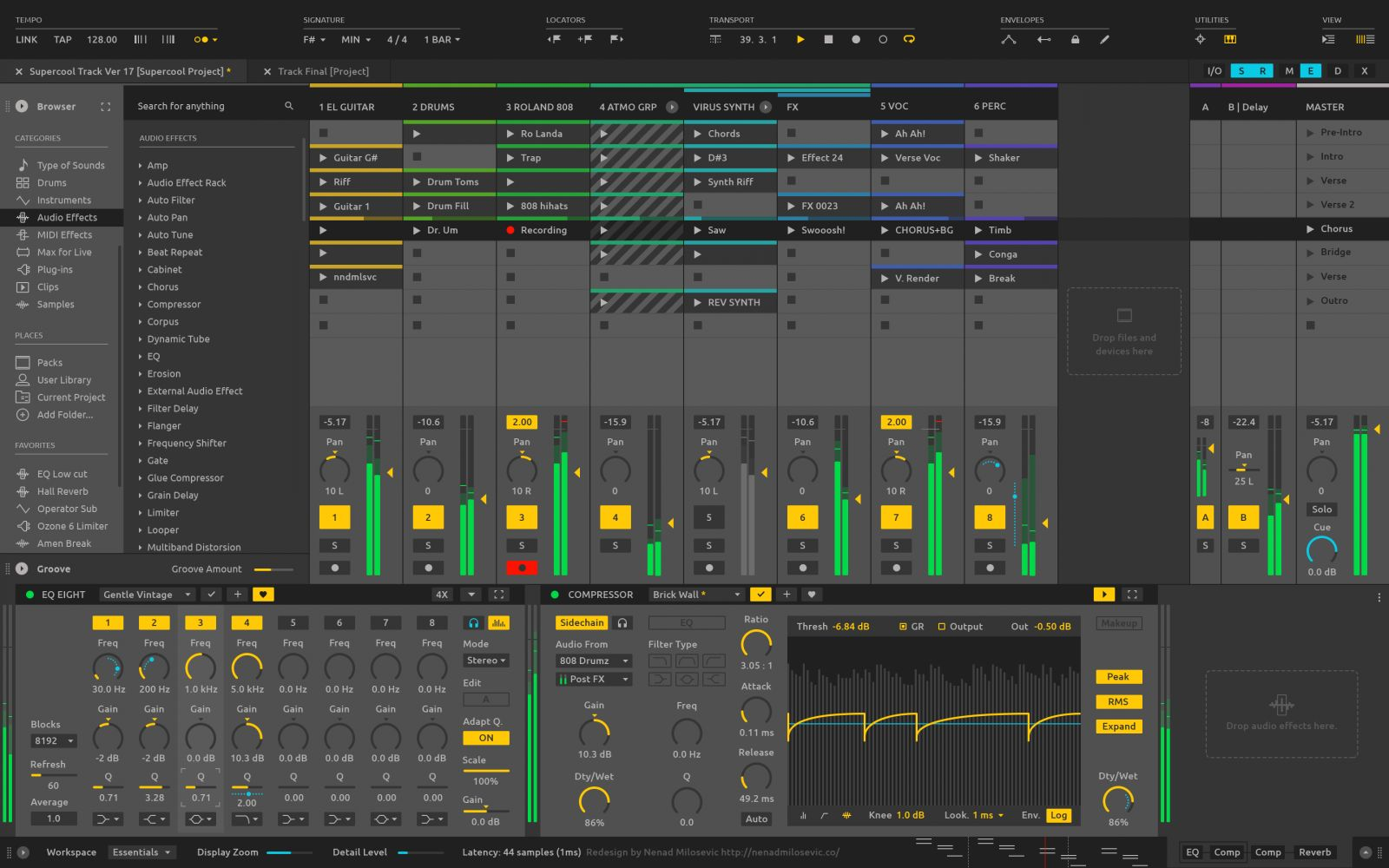 how to add codecs to ableton live 9