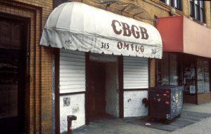 new york, CBGB