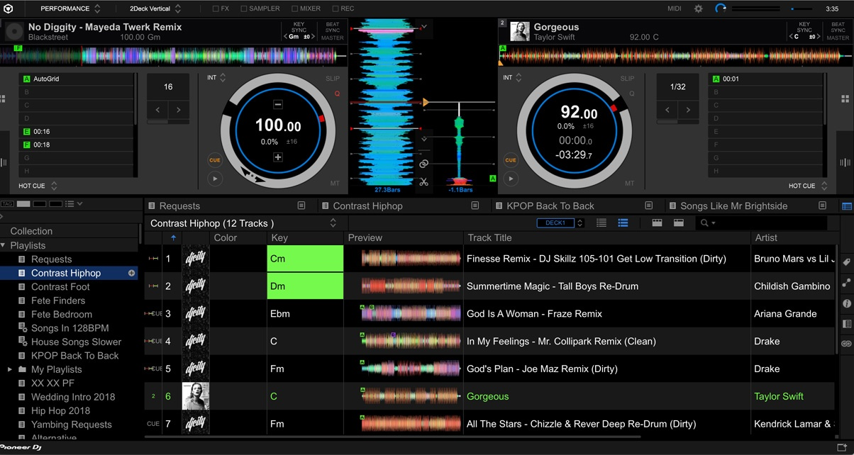 Rekordbox DJ 5.4 Launched, Adds XDJ-RR Support & Traffic Light Key Mixing Aid