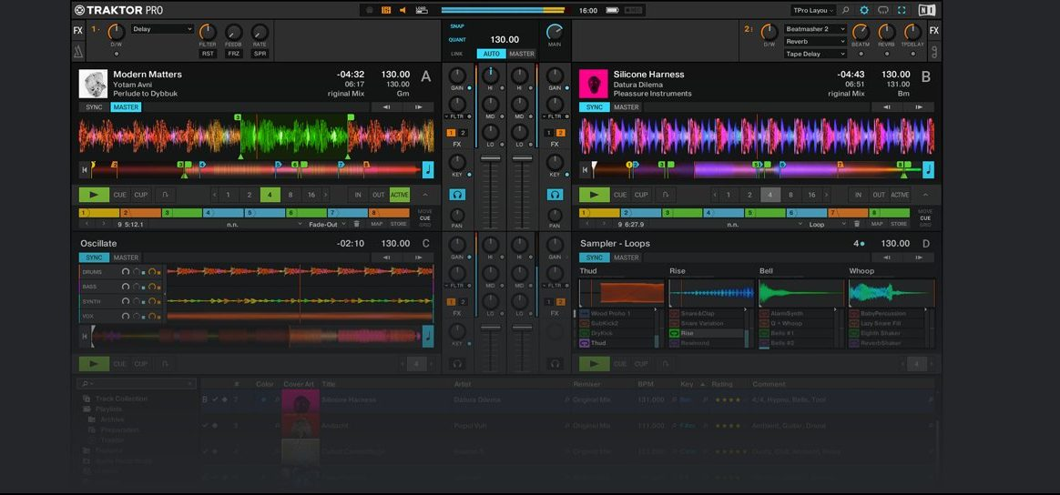 TRAKTOR PRO 3 – PROFESSIONAL 4-DECK DJ SOFTWARE